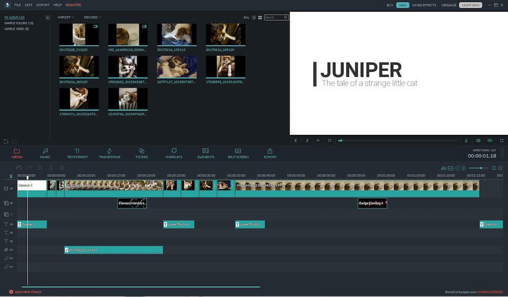 filmora softwar
