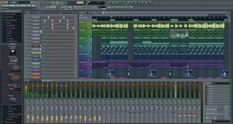 Fl studio softwar
