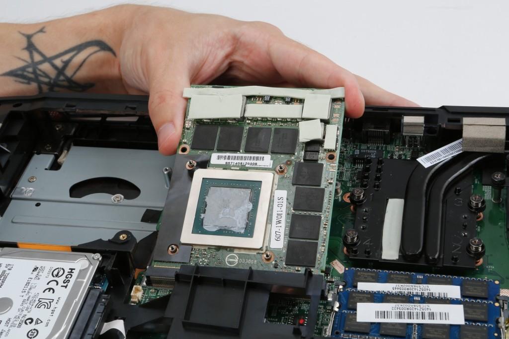 laptobe GPU pci